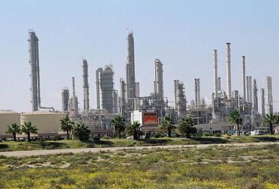 General (external) view of Yanbu Petrochemical (YANPET) complex
