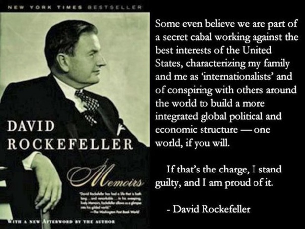 David Rockefeller Incriminates Himself. If guilty of Treason he should receive the punishment due to him.