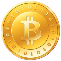 Bitcoin - gold coin (small)